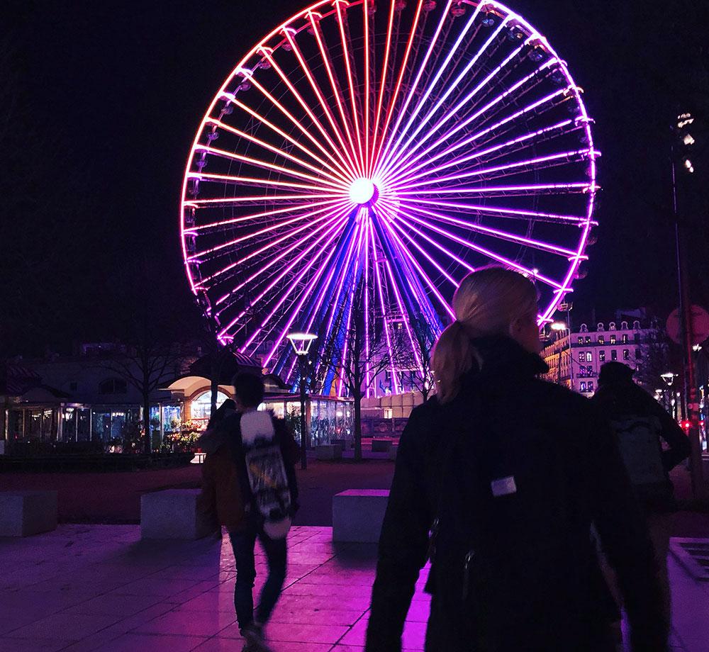 Pariserhjul i Lyón
