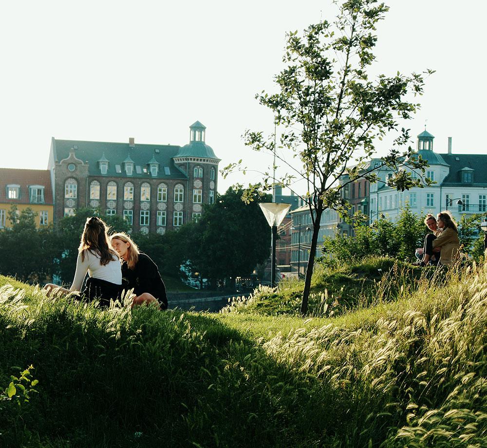Park i Köpenhamn