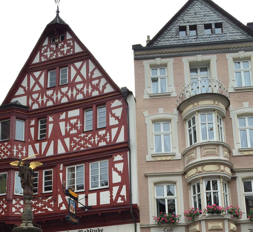 Klassiskt tyska byggnader