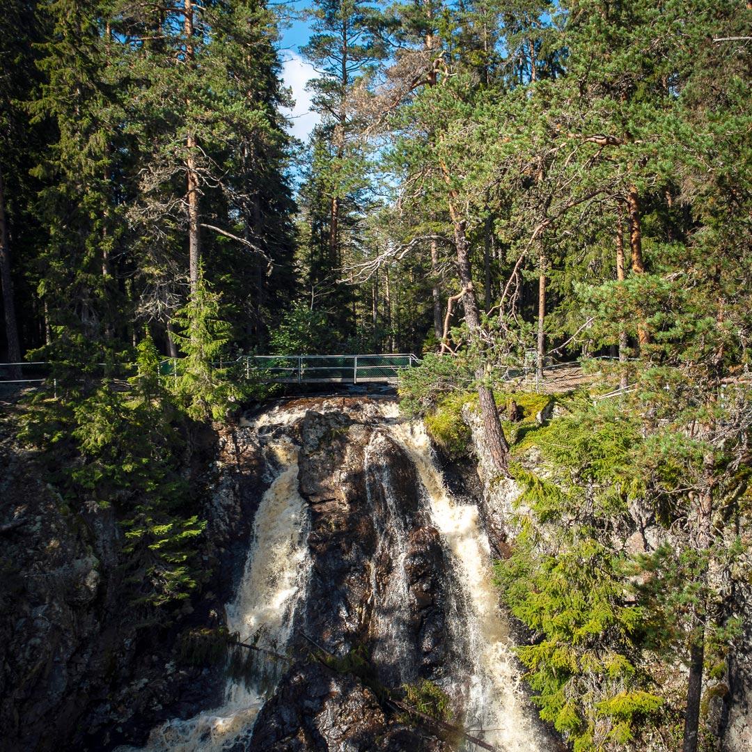 Styggforsens vattenfall, fotograf: Anna Holm, Visit Dalarna